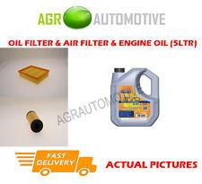PETROL OIL AIR FILTER + LL 5W30 OIL FOR MERCEDES-BENZ A170 1.7 116 BHP 2004-12