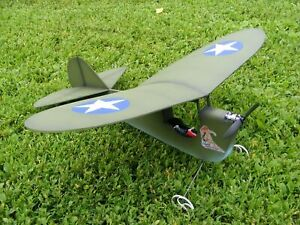 """Aeronkish"" RC indoor park flyer electric model airplane kit"
