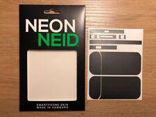 IQOS Device Designfolie Schutzfolie Klebe Folie - grau metallicNeon Neid grey