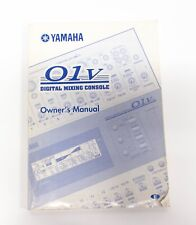 Yamaha O1v Digital Mixing Console Owners Manual