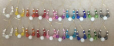 10 Pairs of Spangles Lace Making Bobbins by Harlequin Lace