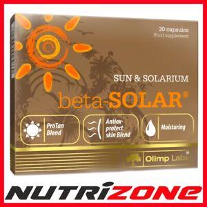 OLIMP BETA SOLAR Beta Carotene Beautiful Skin Tan Tanning Hyaluronic Acid Vit C