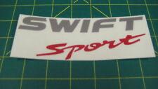 Suzuki Swift sport Z32S fourth gen rear decal sticker graphic replacement hatch