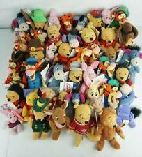 Disney Store Plush Lot Of 43 Winnie the Pooh Eeyore Tigger Most w/Tags