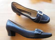 PETER KAISER Schuhe Pumps Leder Größe 40 Echtleder schwarz