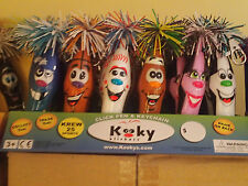 Kooky Klickers pens Krew 25, comple set of 6! Brand New