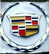 Cadillac Escalade grille emblem (5.75*6.25 inch) 3DAYSHIPPING To US