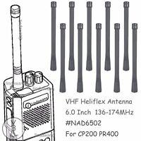 10x VHF Antenna for motorola  CP200 PR400 HT750 HT1250 HT1550 Portable Radio