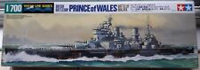 Tamiya 615 model British battleship Prince of Wales New/Boxed