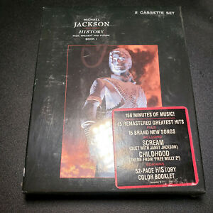Michael Jackson  - History Past,Present & Future - Book 1 Only - CASSETTE - New
