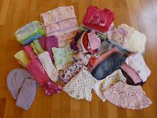 Set / Kleiderpaket Mädchen / Größe 68-80 /  57 Teile / inkl. Zubehör