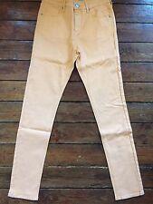 Moto Topshop Jamie skinny jeans orange femme sz 10 W28 coupe 30 ~ 710