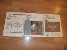 Early American Life Magazine  LOT of (3) 1977-1978