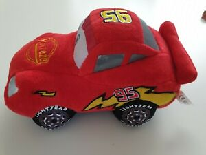Disney & Pixar Lightning McQueen Red Car 22 cm Plush Soft Stuffed Doll