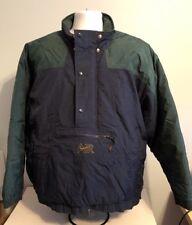 Nike Air Vintage Pullover Parka Jacket Winter Coat 90s Blue & Green Men's L