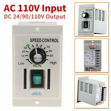 Adjustable PWM DC Motor Speed Controller AC 110V To DC 90V For DC Motor  NEW !
