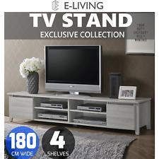 E-Living Sven 180cm Entertainment Unit TV Stand - White