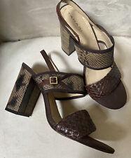 New Tahari Snake Detail Sandal 8.5M