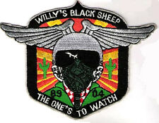 Williams AFB 1989 4th Graduating Class Pilot Training SSI: WILLY'S BLACK SHEEP
