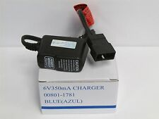 Fisher Price Power Wheels 6 Volt Blue Battery Charger 00801-1781