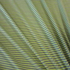 Stoff Meterware Baumwolle Jersey Ringeljersey Streifen kiwi grün grau gestreift