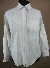 Sportliche LAND`s END  Bluse, Hemd Baumwolle mehrfarbig gestreift Gr. L = 44-46