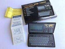 Vintage Citizen Pocket Electronic Calculator MB-1000 Made in Japan #1066