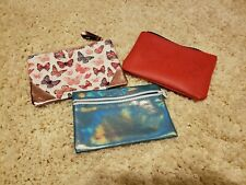 Lot Of 3 Ipsy Makeup Cosmetic Bags