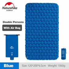 Naturehike NH가벼운 에어 매트/ 2인용-Blue(Mattress+Inflatable Bag) / 야외용 탠트 매트/