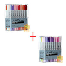 DHL 5DAYS TOO COPIC Ciao Set A+B 36 color 72 PEN SET Artists Markers Anime Comic