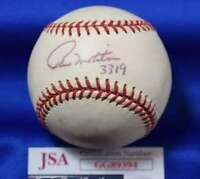 Paul Molitor 3319 JSA Coa autograph Major League OML Hand Signed Baseball
