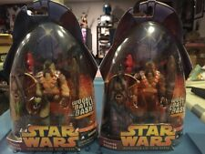 Star Wars Revenge of the Sith Wookiee Warrior #43 Set 2 Variants  DARK LIGHT