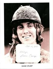 Diane Crump Autograph Jockey Horse Racing Kentucky Derby Bridle n Bit Hialeahl 2