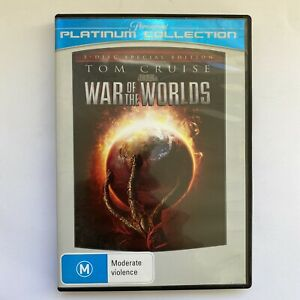 War of the Worlds (DVD, 2009) Region4PAL Tom Cruise FREE POSTAGE
