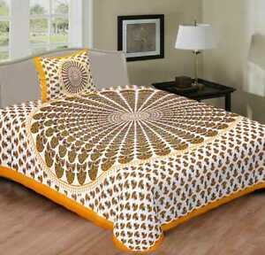 Kids room bad cover Cotton Mandala Duvet Cover bed sheet with pillowcase king