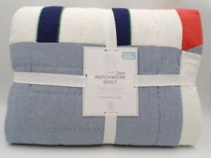 Pottery Barn Kids Connor Patchwork Quilt Geometric Full Queen Multi #9787S