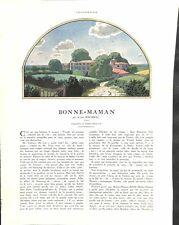 Bonne-Maman d'André Birabeau dessin de Pierre Brissaud pigeon ILLUSTRATION 30s