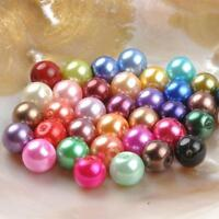 90X DIY No Hole Bead Loose Beads Jewelry Necklace Bracelet Earrings Accessories