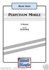Perpetuum Mobile-Brass Band-Partitura Y Piezas * Nuevo * Libro De Partituras