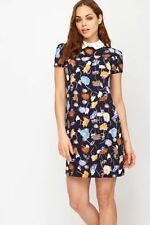 Unbranded Party Short Sleeve Synthetic Dresses for Women