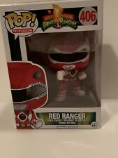 FUNKO Pop TV: Power Rangers - Red Ranger Action Figure 406