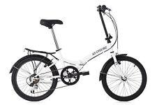 "Faltrad Foldtech 20"" weiß 6 Gänge Drehgriffschaltung Klapprad KS Cycling 521C"