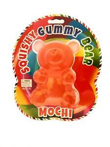 Giant Mochi Gummi Bear Stress Reliever Squishy Toy Anxiety Relief Sensory Play
