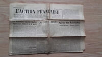 JOURNAL NATIONALISTE L'ACTION FRANCAISE 15 FEVRIER 1934 N° 46 ABE