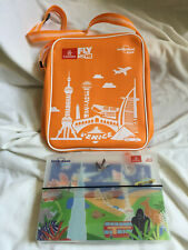 NEW Emirates Airline Lonely Planet Fly With Me Shoulder Tote Bag KIDS