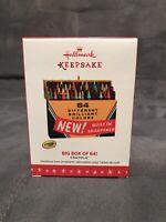 Hallmark Keepsake Crayola Big Box 64 Crayons Christmas Ornament 2016