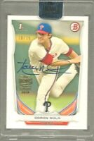 2018 Topps Archives Aaron Nola Signature Series Bowman Rookie Buyback Auto 10/15