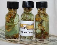 Money Drawing Oil, Traditional Conjure, Santeria, Hoodoo, Successful Business