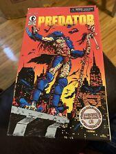 Neca Predator 25th anniversary Dark Horse Comics 8? MIB w/ Comic #1 rp Ex Cond