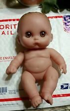 """Berenguer Baby Doll Vinyl 9"""" Tall Wrinkles & Folds Realistic newborn collectible"""